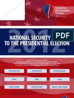 CNAS National Security Guide to the 2012 Presidential Election