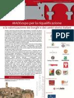 Programma Convegno Borghi Antoitalia MADEexpo 2012