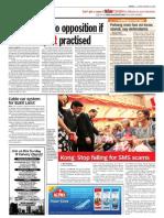 TheSun 2009-01-16 Page08 Raja Nazrin No Opposition if True NEP Spirit Practised