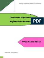 Técnicas de Organización y Registro de la Información