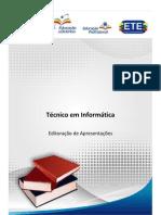 Material EAD - Informática - Editoração de Apresentações (1)