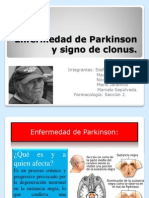 Enfermedad de Parkinson y Signo de Clonus