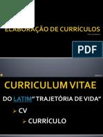 SLIDE AULA 2 - CURRICULUM VITAE - PROJETO SOLDADO CIDADÃO - PRONATEC