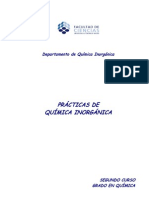 Grado Practicas 2 Q Inorganica