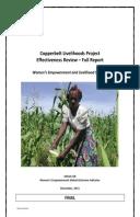 Effectiveness Review: Copperbelt Livelihoods Project, Zambia