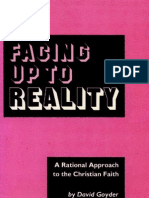 Facing Up to Reality - David Goyder