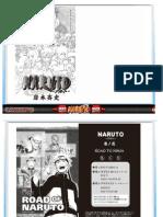 Naruto Manga ROAD to NINJA