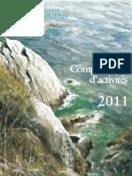 Compre rendu d'activité 2011