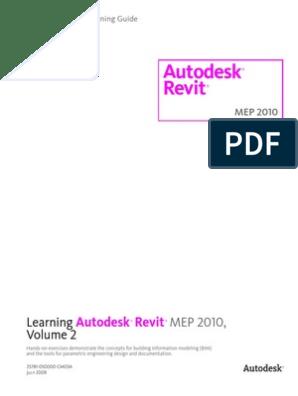 Autodesk Revit MEP Official Training Guide Essentials