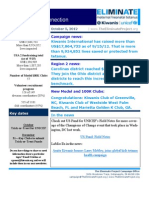 The Eliminate Project - Kiwanis USA 2 Newsletter-10-5-12
