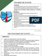 Diccionario de Datos Clases Alumnos