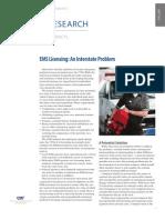 EMS Licensing
