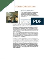 2007 Green Building Plan