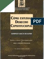 CÓMO ESTUDIAR DERECHO CONSTITUCIONAL.