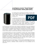 "D-Link recibe prestigioso premio ""Good Design"" por el Gigabit Cloud Router N300 (DIR-636L)"
