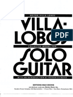 Complete Works for Solo Guitar Heitor Villa Lobos