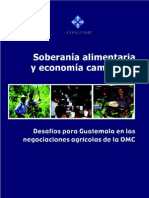 Soberanía Alimentaria y Economía Campesina CONGCOOP