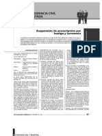 Renzo Cavani - 'Prescripción y mérito' - Actualidad Juridica 226 - sept. 2012