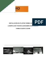 Manual de Instalación de plafón modular registrable Ligerplac