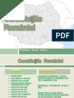 constitutiile romaniei