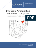 EarlyVoting Cuyahoga Report