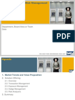 Solution Overview Presentation - SAP Treasury and Risk Management