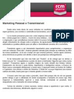 Marketing Pessoal e Transmissível