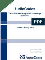 Catalogo Certificaciones Audiocodes