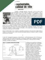 Desarrollo Sustentable Pobreza y Calidad de Vida Alberto Cortez