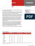 Evropská Ekonomika v HDP, 2013 (dokument v AJ)