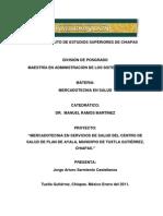Ensayo de Mecadotecnia en Salud Plan de Ayala