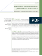 Síndrome pré-menstrual e síndrome disfórica