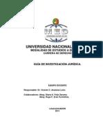 Guia de Investigacion Juridica Med 2011
