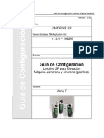 Guía de Configuración Unidrive SP Elevación v2