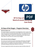 31 Days of the Dragon Case Study