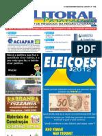Jornal DoLitoral Paranaense - Edição 192 - Online - setembro 2012