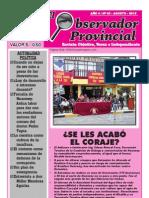 Observador Provincial - Agosto 2012