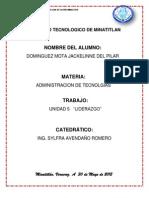 JPDM AdmonTecnologias Unidad5 Liderazgo