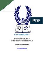 P. D. Ouspensky_Iniciación de Jesús