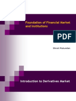 Derivatives Market Forwarded to Class