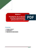 Paradigmas de La Educacion Diversas Explicaciones y Aplicaciones en El Aula