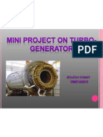 STUDY OF TURBO-GENERATORS.