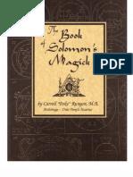 The Book of Solomon's Magick - Carroll Poke Runyon, Poke Runyon