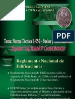 Explicacion de NTE 0.50 Norma de Suelos y Cimentaciones