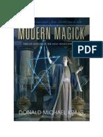 Donald Michae Kraig - Modern Magick; 12 Lessons in the High Magickal Arts