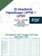 Audit Akademik Jagoh UPPM1 2011