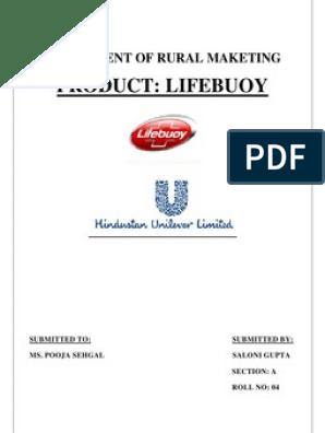 Lifebouy in Rural Market | Unilever | Foods