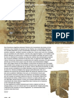 Bnf - L'aventure de la transmission du texte biblique
