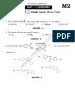 Jee Advanced Solved Model Paper 3(2)