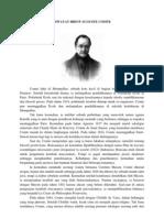 Riwayat Hidup Auguste Comte